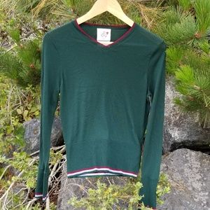 Black Fleece by Brooks Brothers Green Pullover